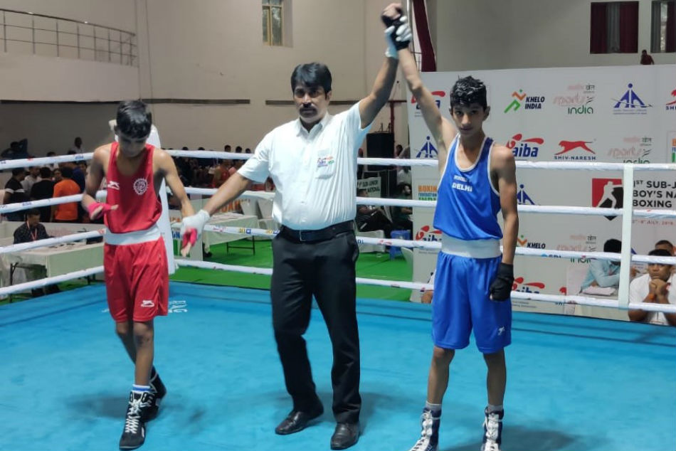 Sub Junior Boys Boxing Nationals Haryana Yashwardhan Singh Delhi Karan Vats Enter Semi Final
