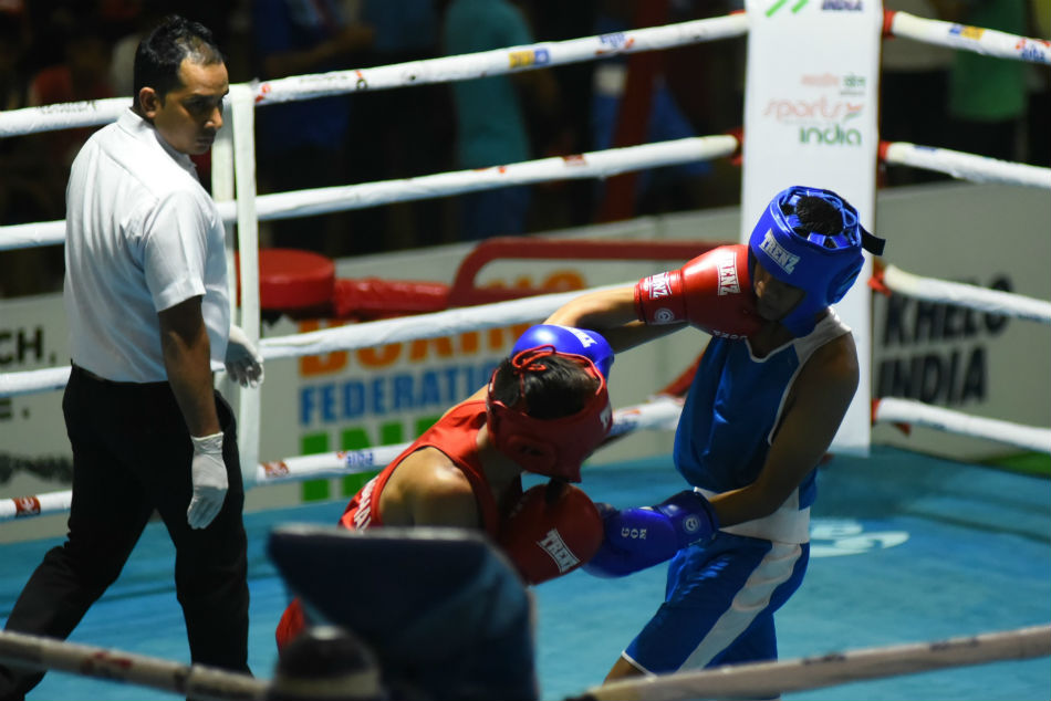 Yashwardhan Singh is a trainee at the National Boxing Academy in Rohtak and a Silver medalists at 2019 Khelo India, he pulled off the first KO of the Championship with his domination performance during the first edition of Sub Junior Boys Nationals