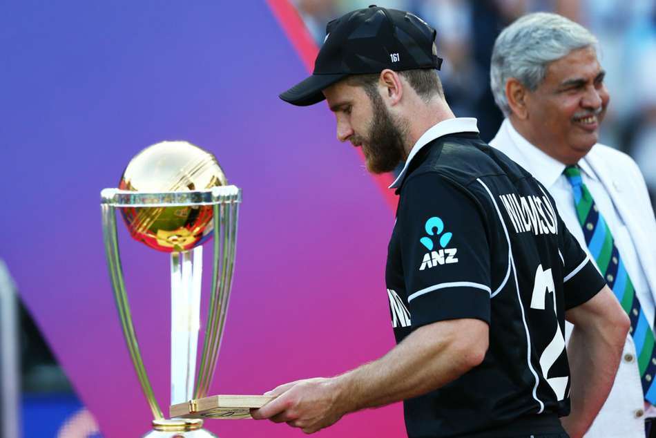 England New Zealand Cricket World Cup Final Super Over Kane Williamson Reaction