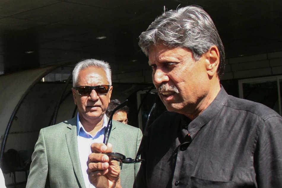 Kapil Dev To Head The Three Member Panel To Pick India Head Coach