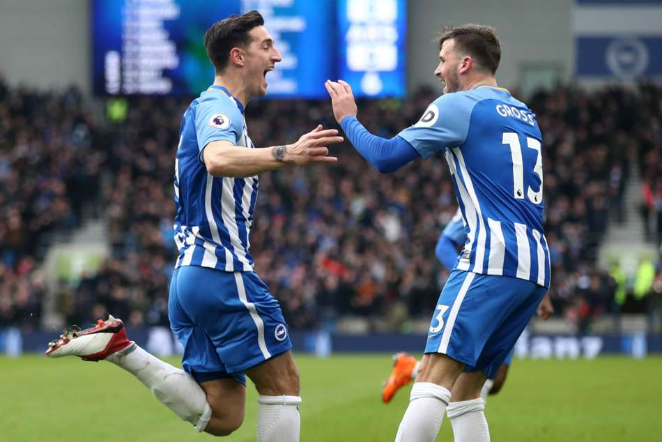 Lewis Dunk (left)