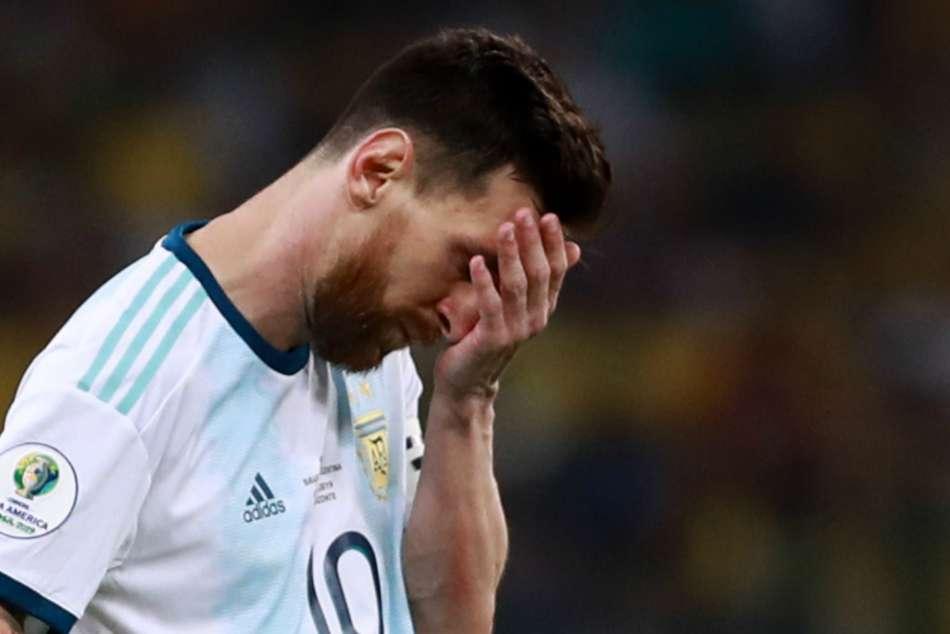 Lionel Messi Copa America Semi Final Loss Brazil International Heartache Near Misses