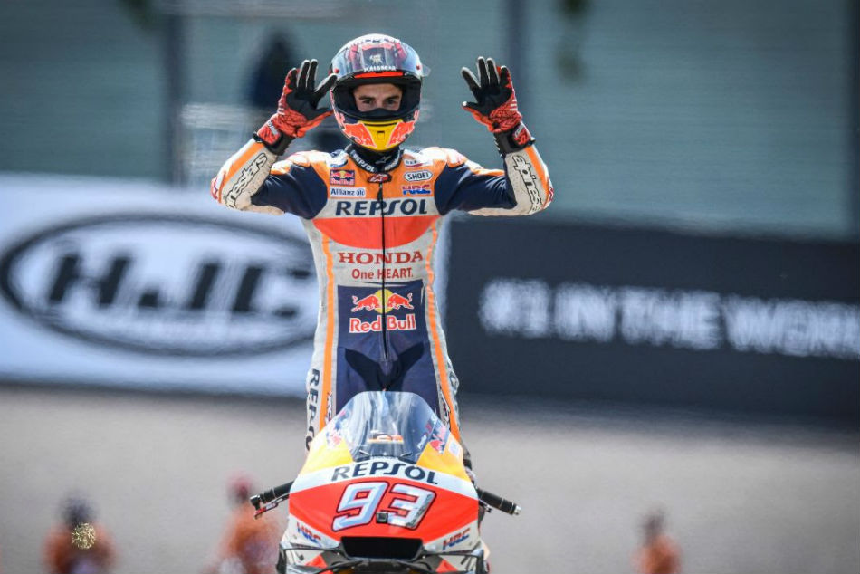 How Marquez Made It A Perfect Ten At The Sachsenring
