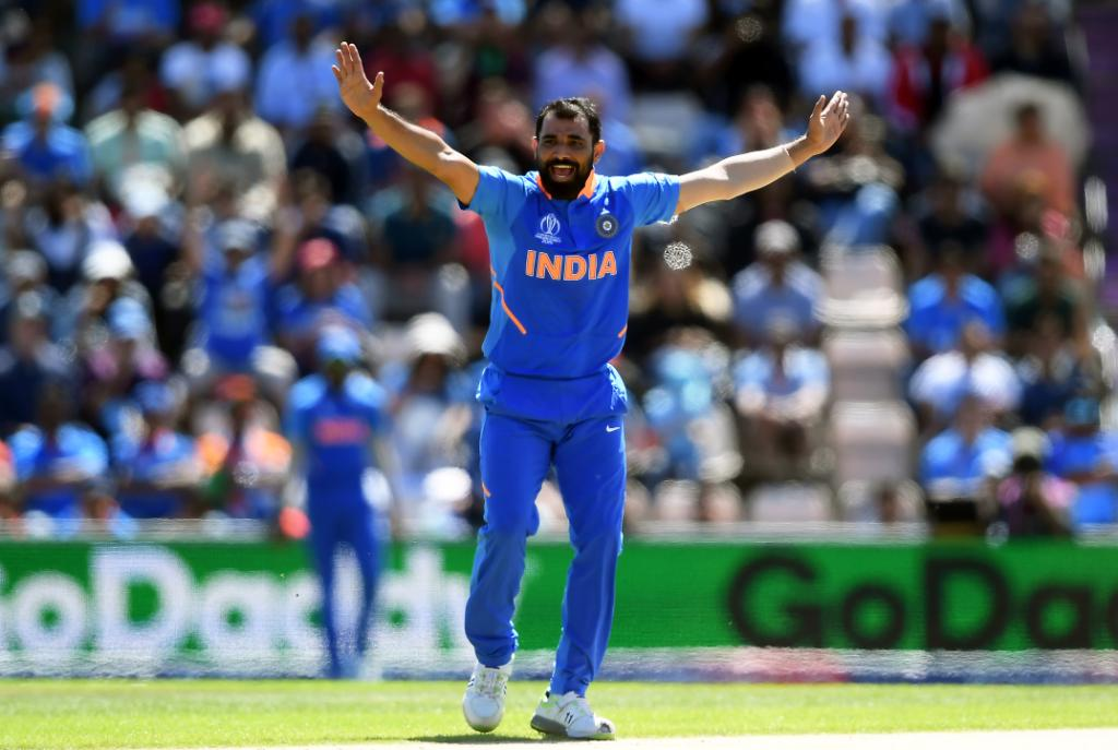 Mohammed Shami (4/16 vs West Indies)