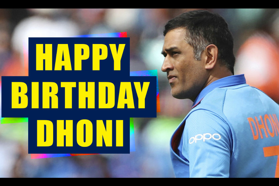 Ms Dhoni Turns 38 Cricketing Fraternity Wishes India S Most Successful Captain