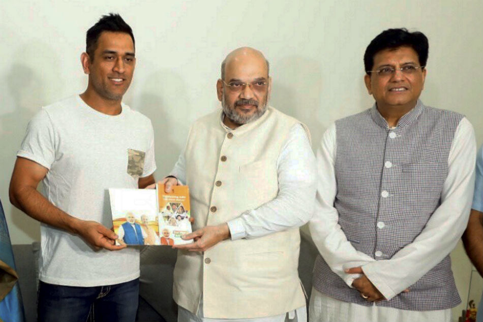 MS Dhoni to join politics after retirement? BJP working president JP Nadda says 'all are welcome'