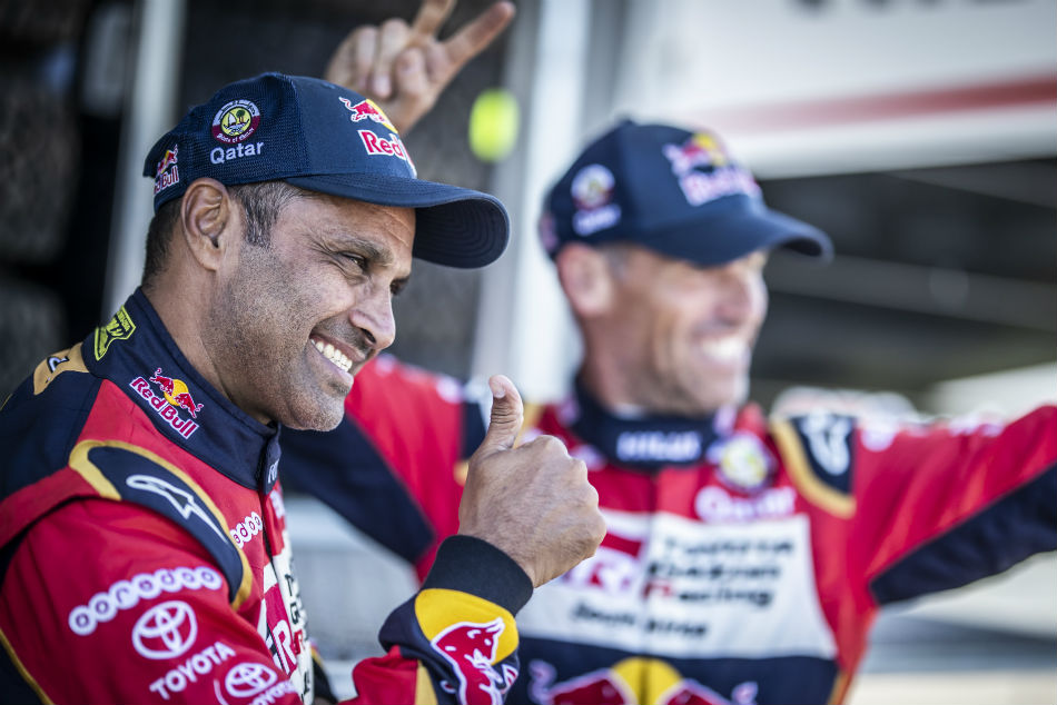 Nasser Saleh Al Attiyah and Mathieu Baumel