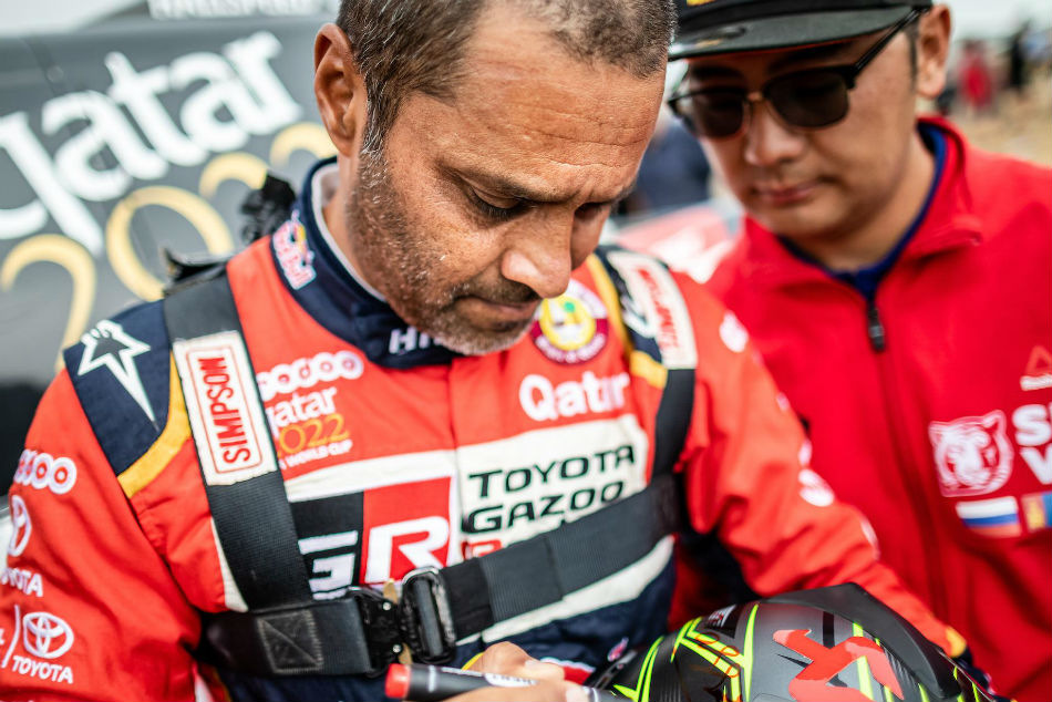 Silk Way Rally Fifth Stage Win Puts Al Attiyah In Command