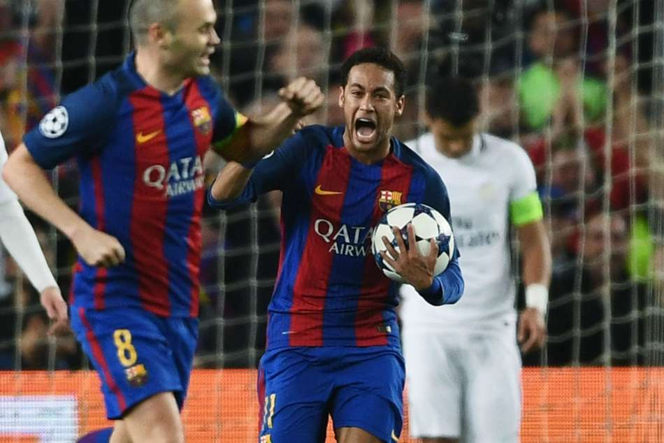 Neymar Trolls Psg Picking Best Moment In Football Barcelona Remontada Champions League