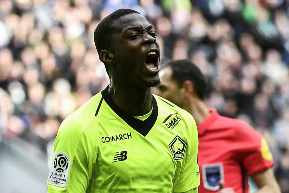 Nicolas Pepe To Arsenal 80million Lille President Gerard Lopez