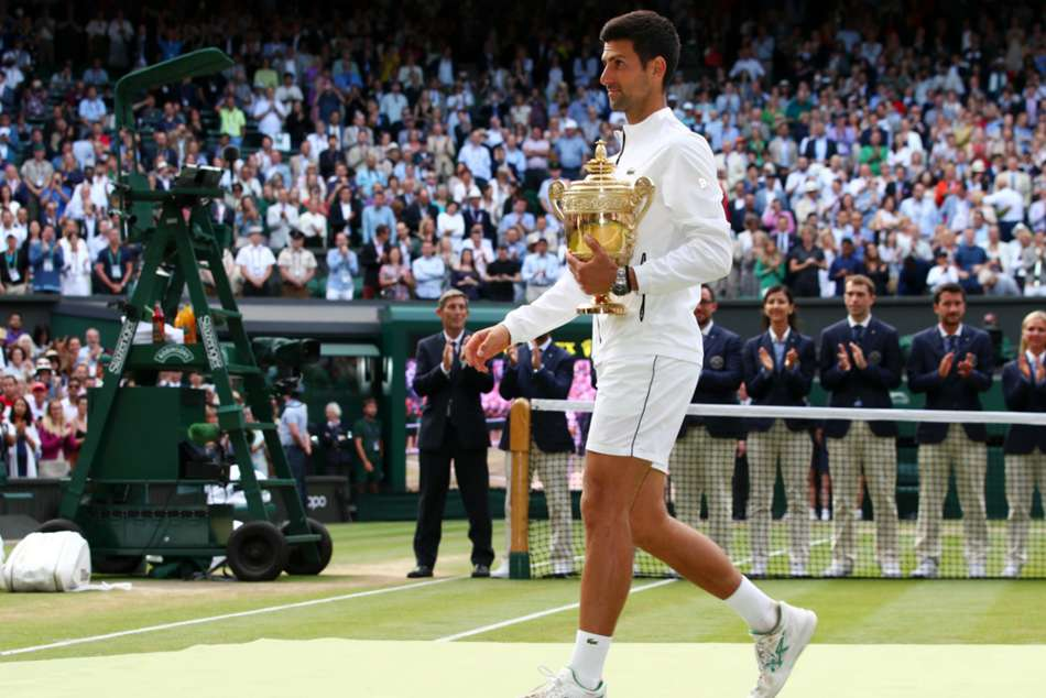 Novak Djokovic Steps Up Pursuit Of Roger Federer Records Wimbledon Final Fantasia