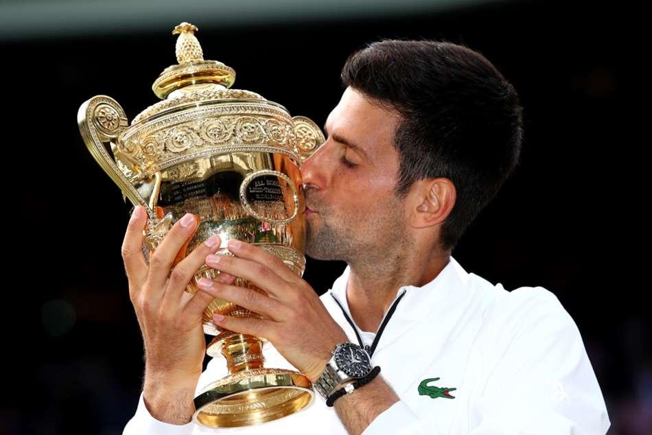 Wimbledon 2019 Mens Final Novak Djokovic Quite Unreal