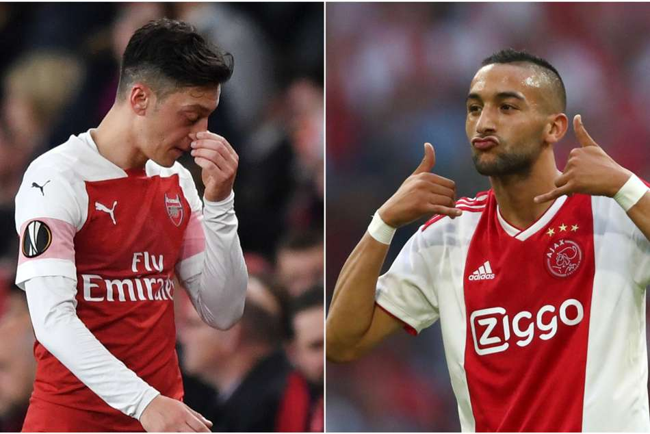 Hakim Ziyech Mesut Ozil Arsenal Ignored Marc Overmars Advice Ajax