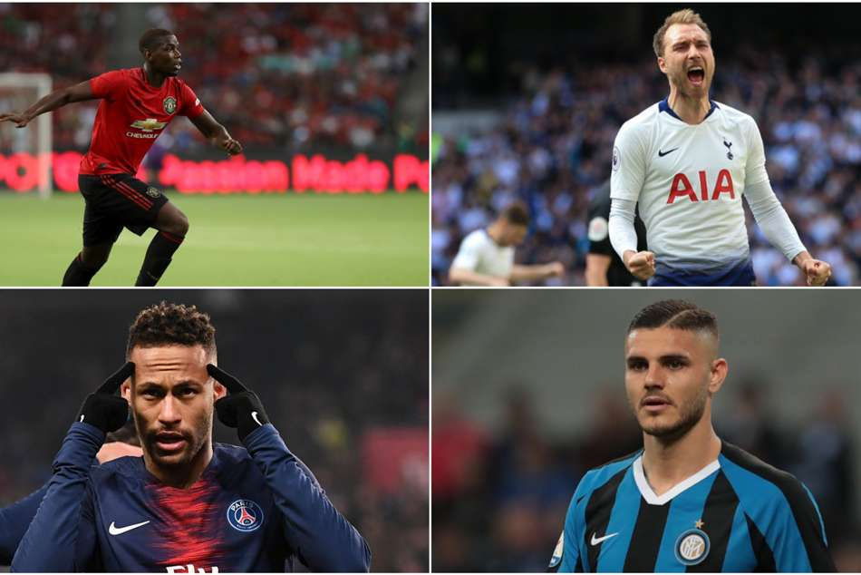 Pogba, Neymar, Eriksen and other wantaway stars stuck in limbo