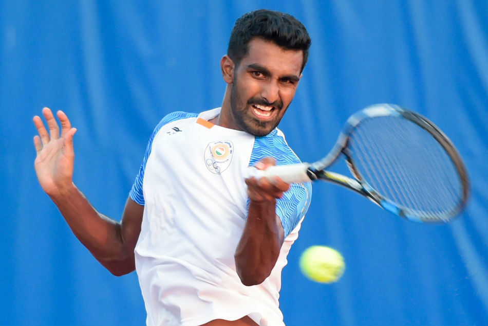 Prajnesh Loses To Raonic In Wimbledon First Round