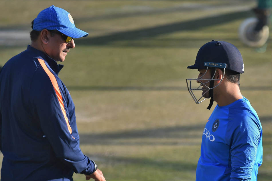 Ravi Shastri hails the composure of MS Dhoni