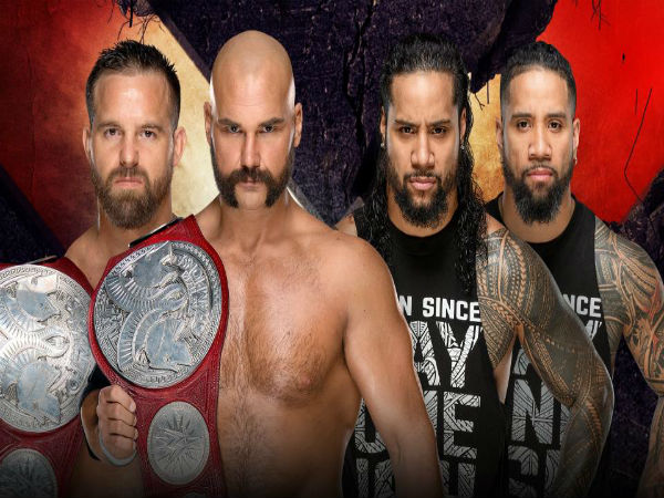 Raw Tag Team Championship Match: The Revival (c) vs. The Usos