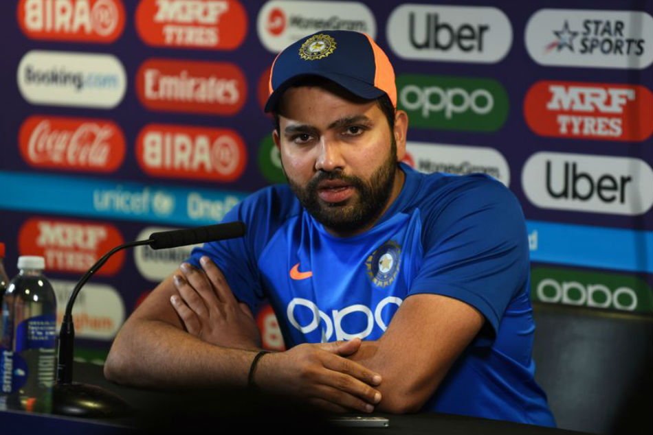 Icc World Cup 2019 Rohit Sharma S Witty Response To Reporters When Asked About Rishabh Pant