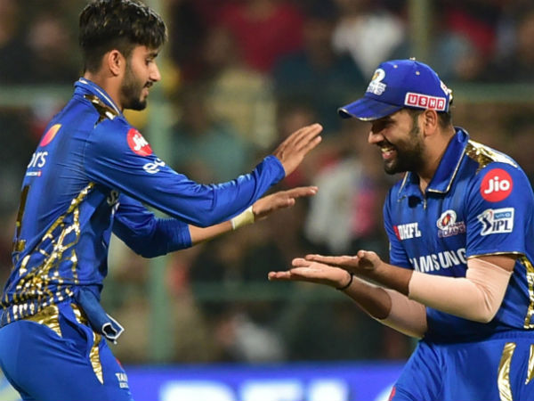 1. Success in IPL for Mumbai Indians