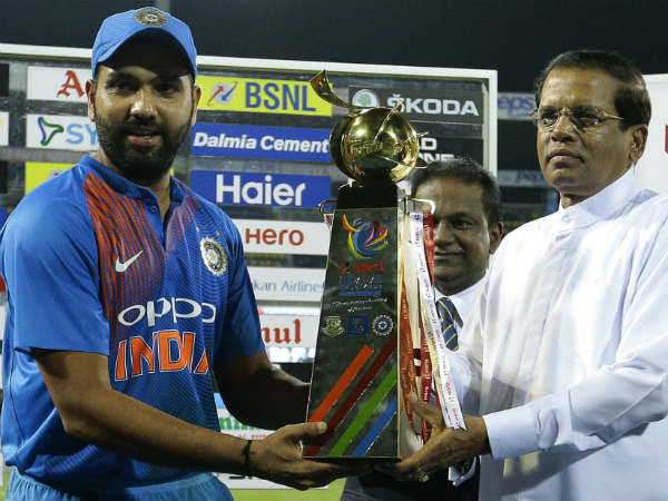 2. Wins as captain in Nidahas Trophy, Asia Cup