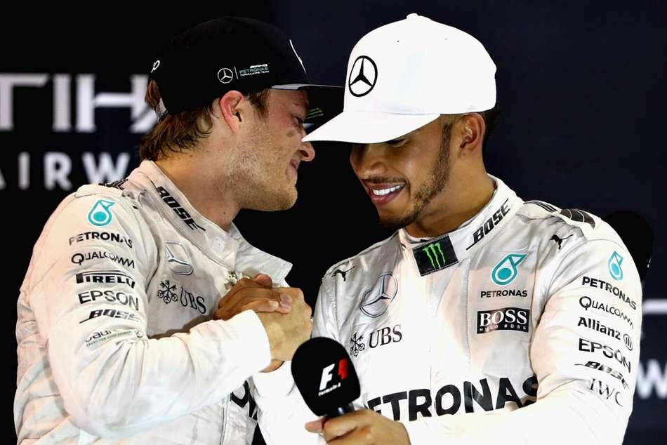 Hamilton Will Break Schumachers Records Predicts Rosberg Lewis