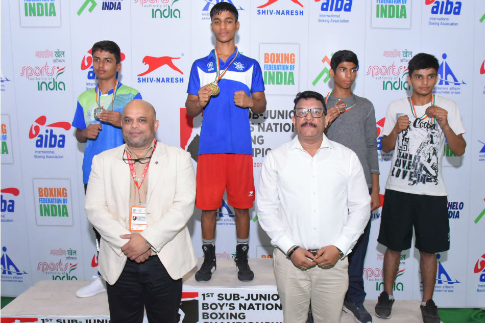 Sub Junior Boys Boxing Nationals Services Adjudged The Best Team At First Edition