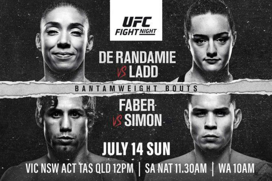 Ufc Fight Night 155 De Randamie Vs Ladd Preview Fight Card Schedule