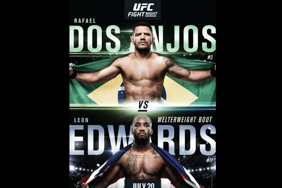 UFC on ESPN 4: dos Anjos vs. Edwards fight card and schedule