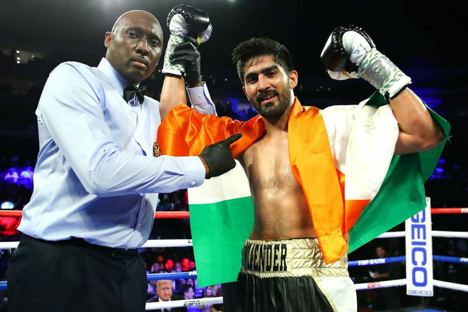 No Stopping Vijender Singh Wins 11th Pro Bout