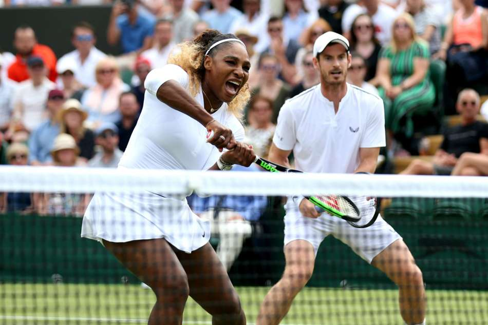 Serena Williams Andy Murray Mixes Doubles Wimbledon Exit