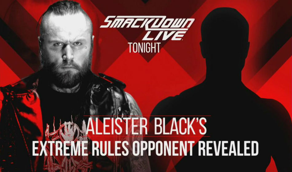Aleister Black will make his PPV debut at Extreme Rules (image courtesy Twitter)