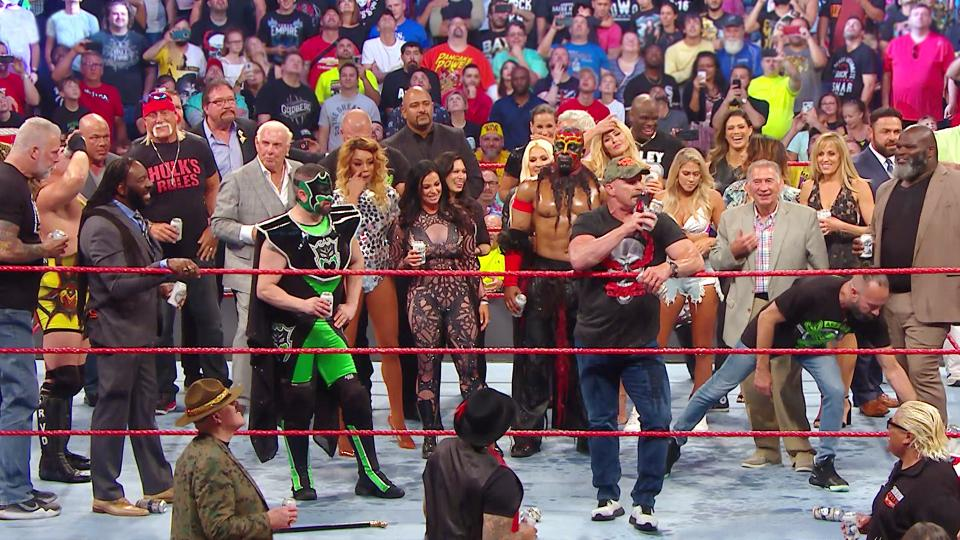 WWE Monday Night Raw Reunion results with highlights: July 22, 2019