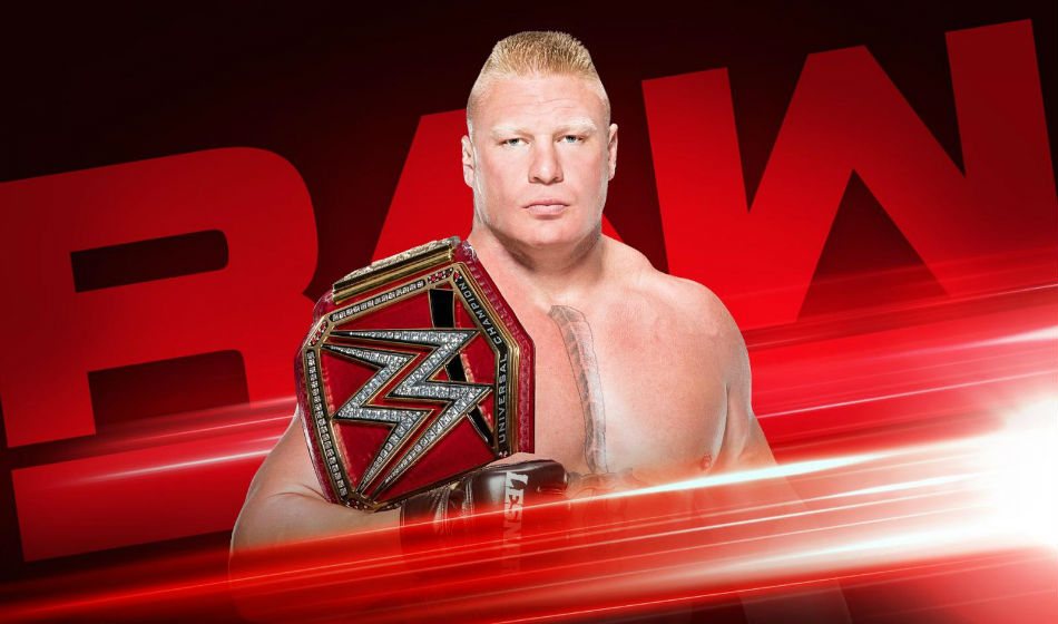 Brock Lesnar is back as the Universal Champion (image courtesy WWE.com)