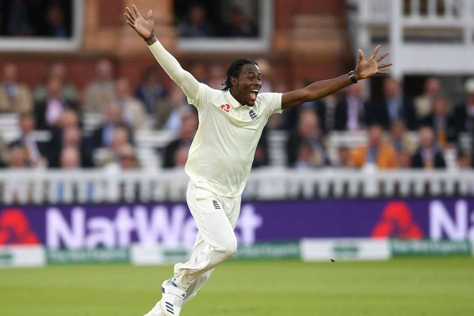 Jofra Archer First Test Wicket England Fight Back Day Three Second Ashes Test Against Australia Lords
