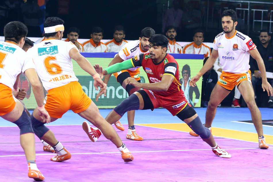 Pkl 2019 Puneri Paltan Clinch Impressive Win Over Bengaluru Bulls