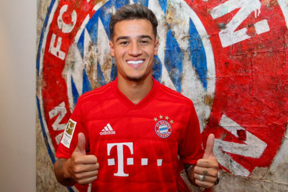 Bayern sign Coutinho on loan from Barcelona