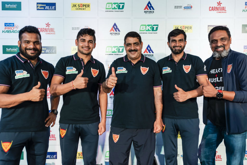 Pro Kabaddi League 2019 Dabang Delhi Kc Gear Up For The Home Leg