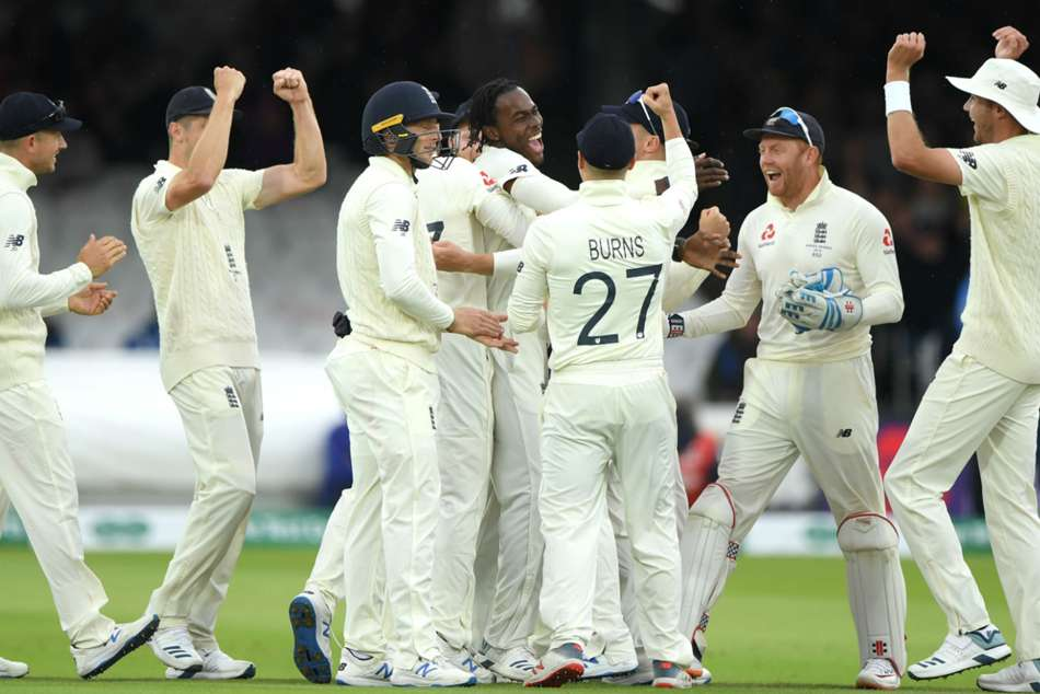 England Australia Abandoned Rain Day Three Second Ashes Test Lords Jofra Archer Maiden Test Wicket