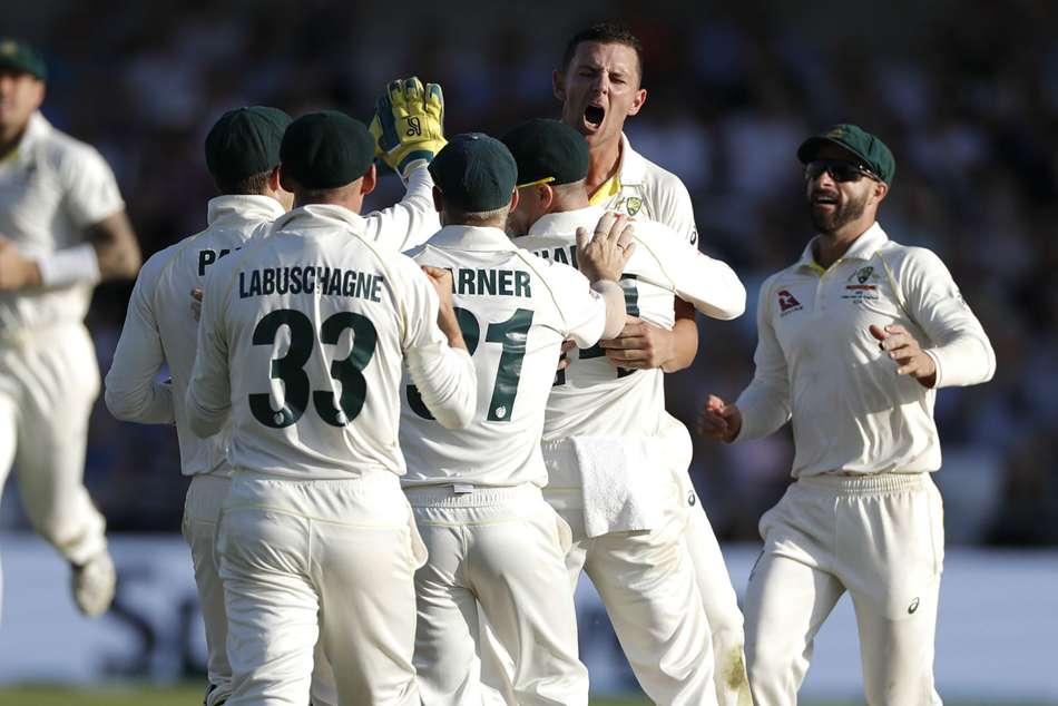 Joe Root Joe Denly Half Centuries England Australia Ashes Day Three Headingley Josh Hazlewood Two Wickets