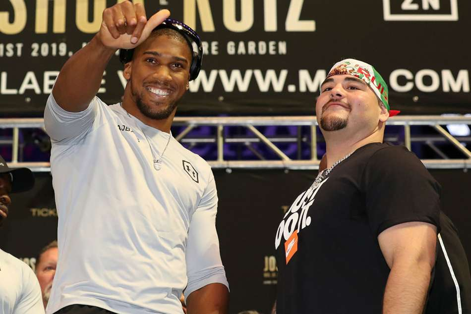 Anthony Joshua and Andy Ruiz Jr will meet again in December