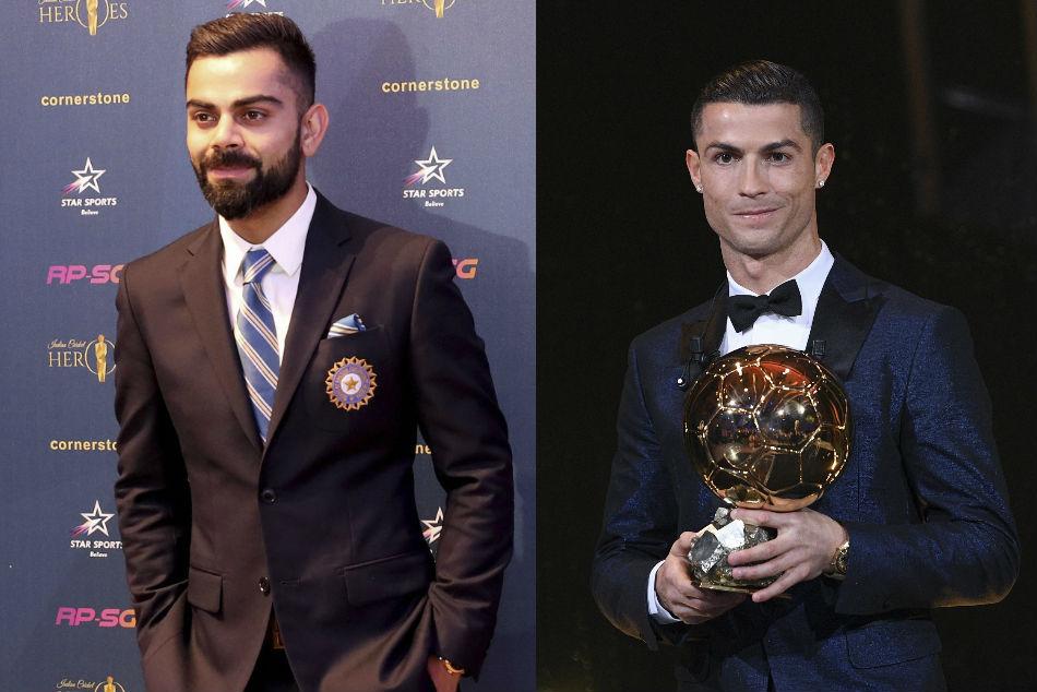 Virat Kohli Weighs In On Ronaldo Vs Messi Debate