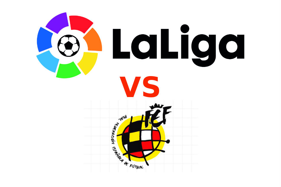 La Liga and the Spanish Football Federation (RFEF) are locked in another bitter dispute