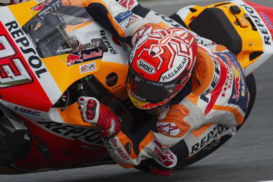 Marc Marquez equalled Mick Doohans record of 58 poles