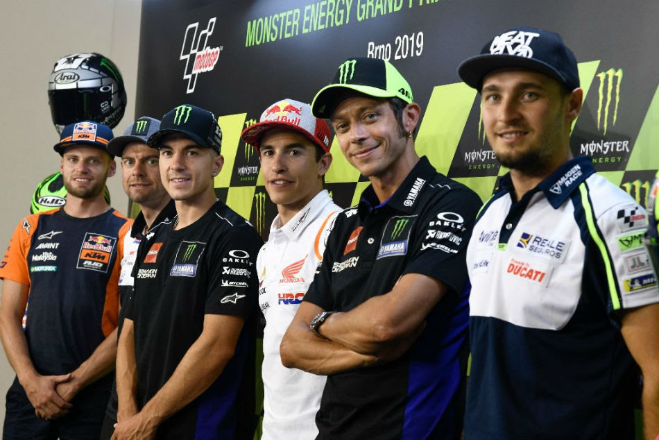 Motogp Riders Ready To Hit The Tarmac Once Again