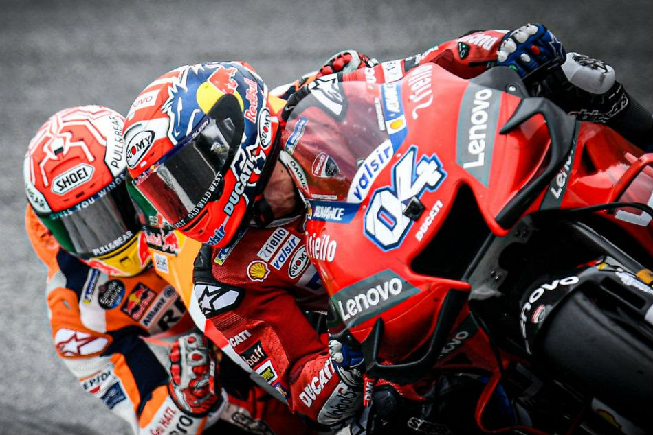 Motogp Analysis How Dovizioso Denied Marquez In Austria