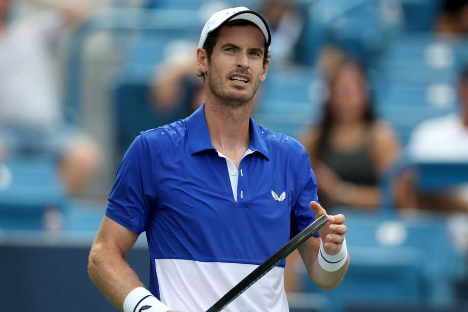 Murray was edged by Tennys Sandgren 7-6 (10-8) 7-5 at the ATP 250 tournament