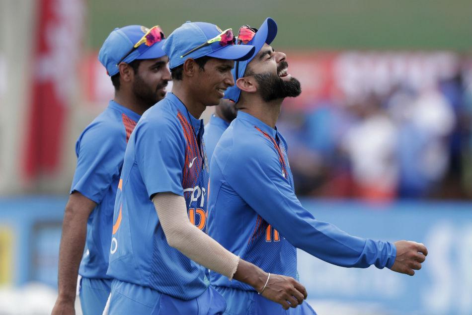 India Vs West Indies Saini Is A Raw Talent Has Bright Future Kohli