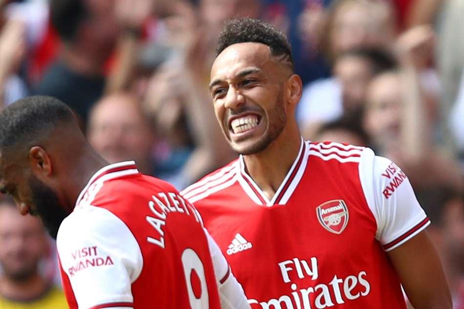 Pierre Emerick Aubameyang Arsenal Forwards Emulate Liverpool
