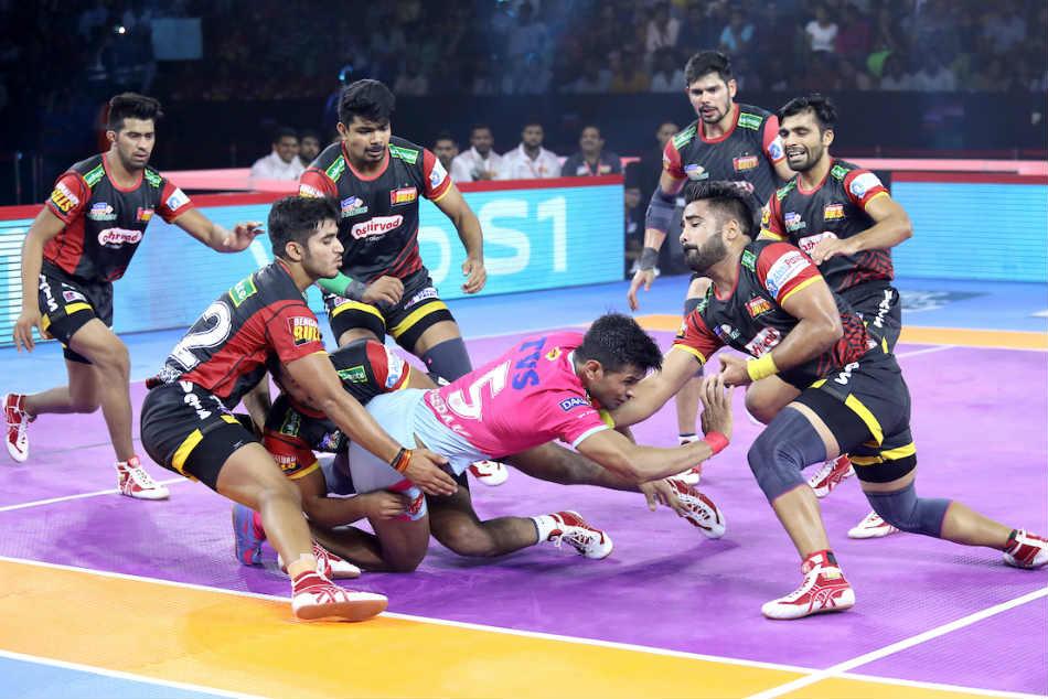 PKL 2019: Bengaluru Bulls defeat table-toppers Jaipur Pink Panthers