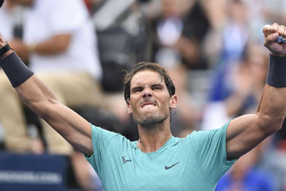 Rafael Nadal Montreal Atp Rogers Cup Tsitsipas Beaten